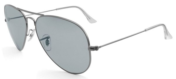Óculos de sol Ray-Ban aviador polarizado médio RB3025 029/P2