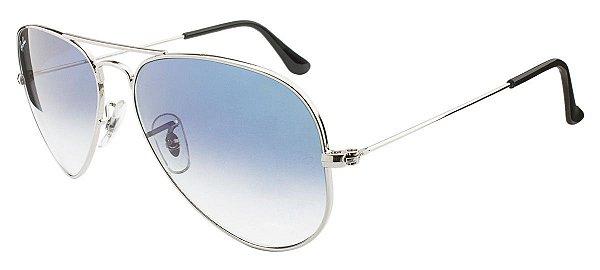 Óculos de sol Ray-Ban Aviador RB3025 003/3F 58 Médio