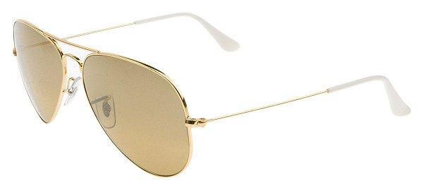 Óculos de sol Ray-Ban aviador grande RB3025 001/3K