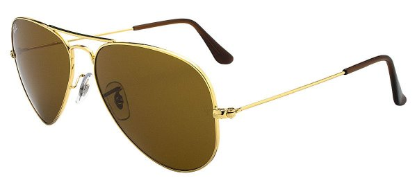 Óculos de sol Ray-Ban aviador grande RB3025 001/33