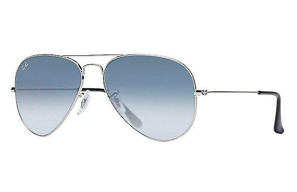Óculos de sol Ray-Ban aviador grande RB3025 003/3F