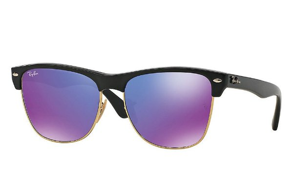 Óculos de sol Ray-Ban Clubmaster Oversized RB4175 877/1M