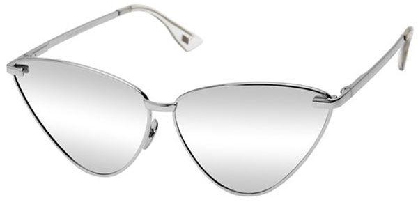 Le Specs Luxe Nero 1602100 Prata com Lente Prata Espelhada