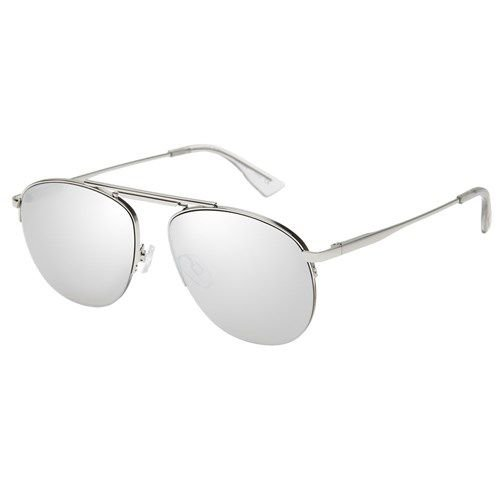 Le Specs Liberation LSP 1702026 Prata Com Lente Prata Espelhada