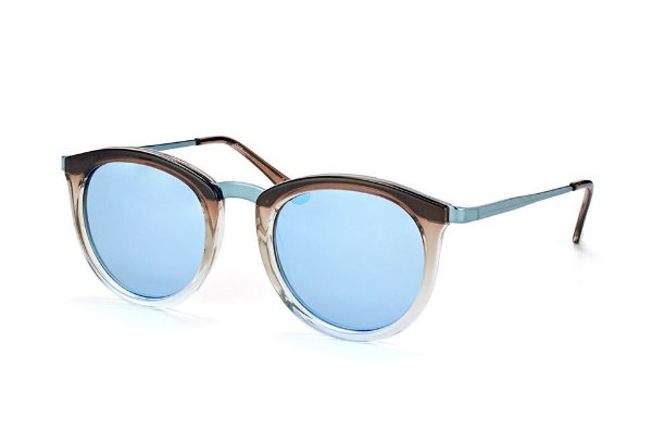 Le Specs No Smirking Marrom Cinza e Azul LSP1702014