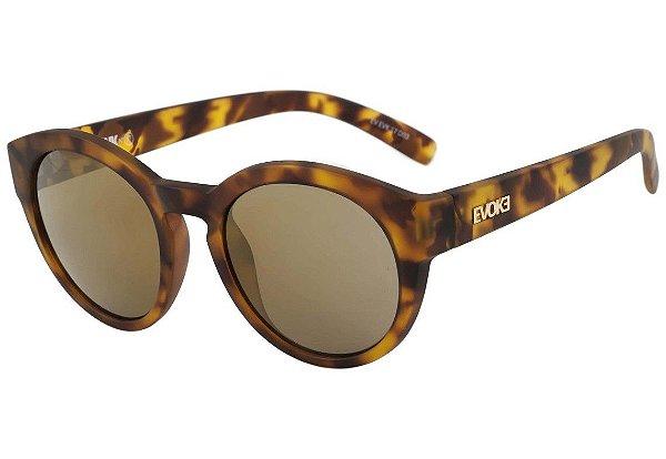 Óculos de Sol Evoke EVK 17 Demi Blonde Gold Espelhado