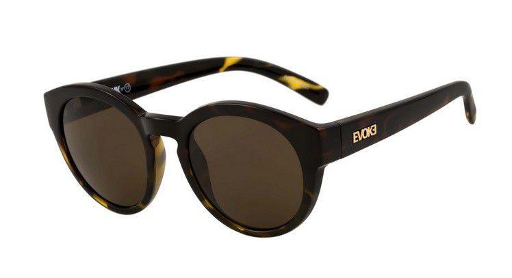 Óculos de Sol Evoke EVK 17 G21 Demi Green Gold Brown