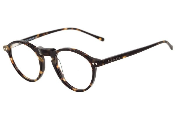 Óculos de Grau Evoke Round Clip On G21 Turtle G15 Green Polarizado