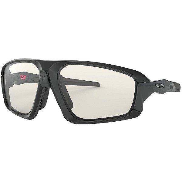 Oakley Field Jacket Matte Black Clear Black Iridium Photochromic OO94020664