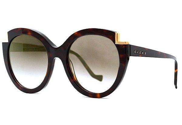 Óculos de Sol Evoke For You DS31 G21 Turtle Shine/ Brown Gradient
