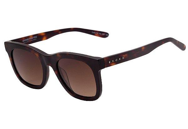 d627168f5 Óculos de Sol Evoke For You DS7 G21 Turtle Matte/ Brown Degradê ...