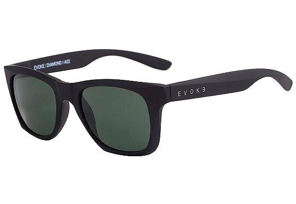 b1eccd540 Óculos de Sol Evoke Diamond A02 Black Matte/ G15 Green - ÓPTICA ...