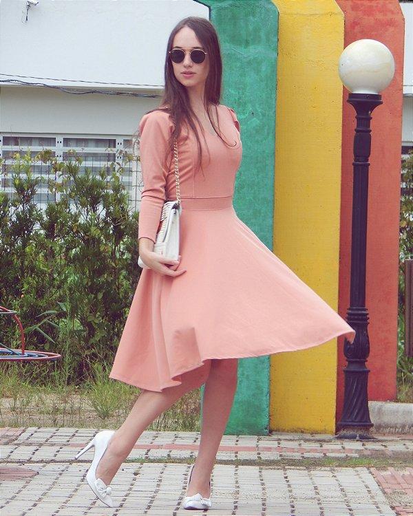 159f3d0a17 Vestido Samara - Ana Luchini - Moda Clássica