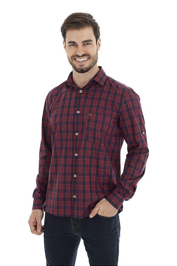 Camisa Casual - Vermelha