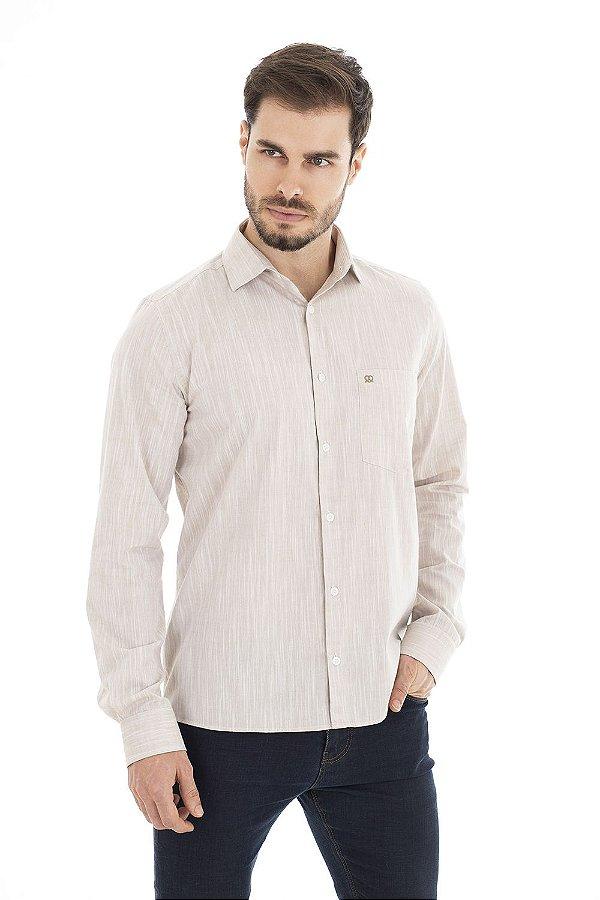 Camisa Business - Areia