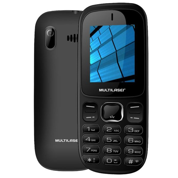 Celular Multilaser UP 3G com 2 Chips Bluetooth Mp3 3G MMS - P9017