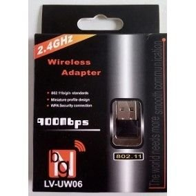 Adaptador Wireless 900mbps 2.4ghz Lv-uw06 Bng