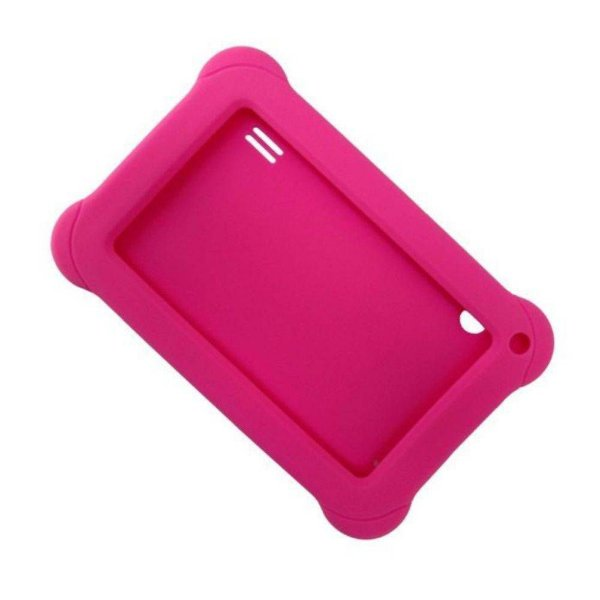 Capa Case Rosa Multilaser Emborrachada P/ Tablet 7 Polegadas PR937