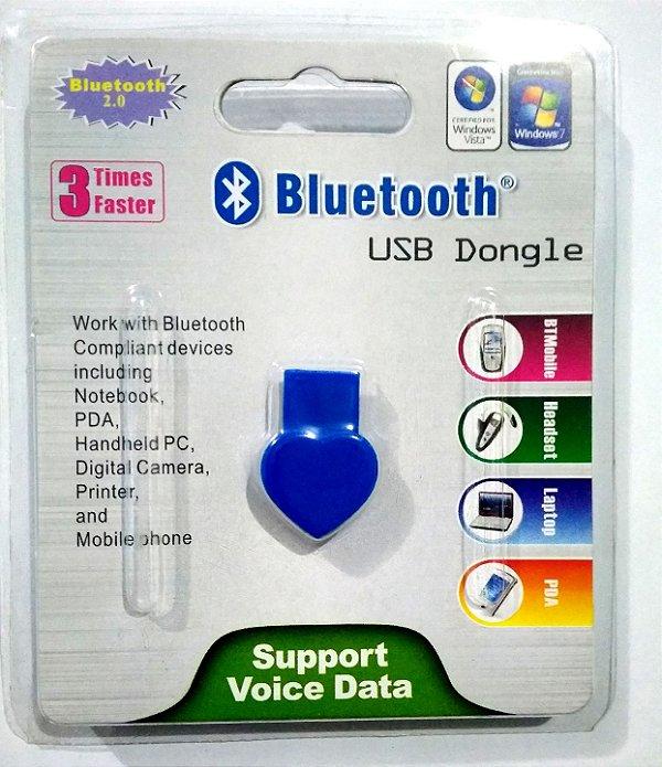 Mini Adaptador Bluetooth Usb Dongle Pc Notebook Smartphone