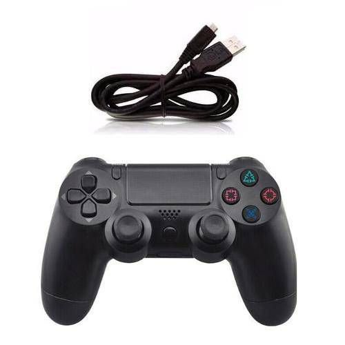 Controle Para Vídeo Game Sem Fio Ps4 Knup Kp-4128 Games
