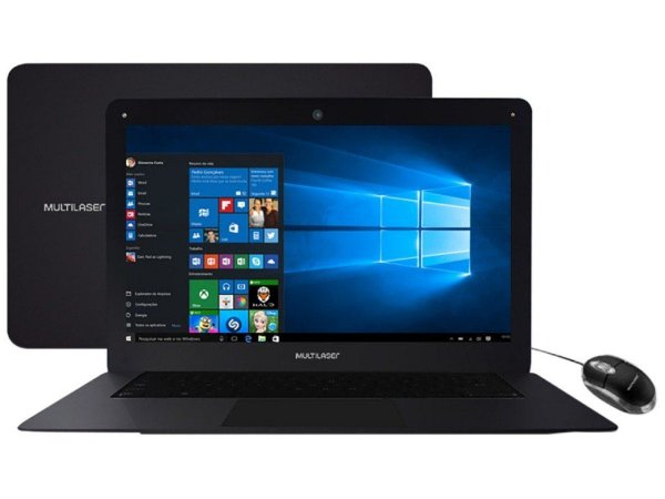 Notebook Multilaser Legacy PC101 Processador Quad Core 2GB