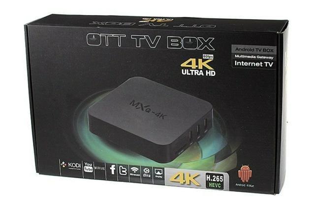 Tv Box 4K MX9 MXQ Pro - Converte sua TV em Smart TV