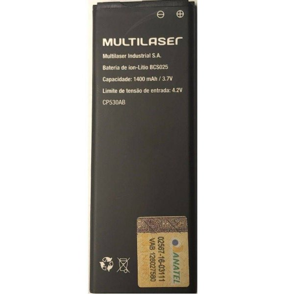 Bateria Bcs025 Original Celular Multilaser Ms40s Pr057 P9025