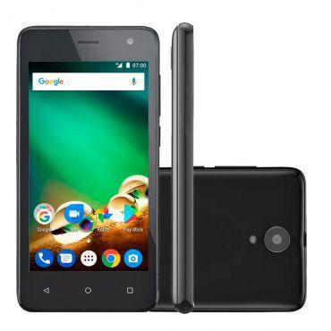 Smartphone Multilaser MS45, 8GB, 8MP, Tela 4.5´, Preto - P9062