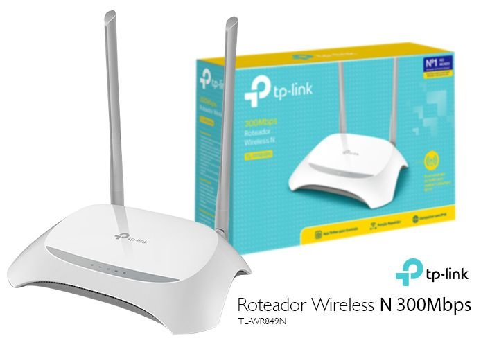 Roteador Wireless Tp Link Tl Wr849n 300mbps 2 Antenas 5dbi