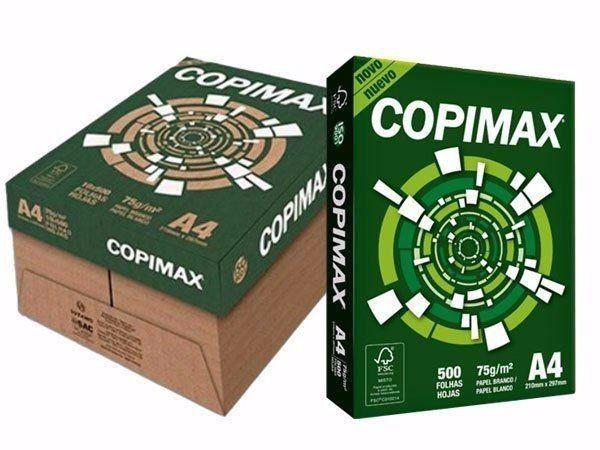 Papel Sulfite A4 Copimax - Caixa Com 5000 Folhas ( CONTEM 10 RESMAS )