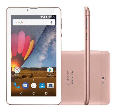Tablet M7-3g Plus - Golden Rose - Nb271 - Multilaser