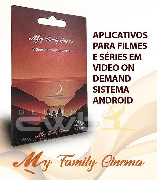 Código De Recarga My Family Cinema Mensal