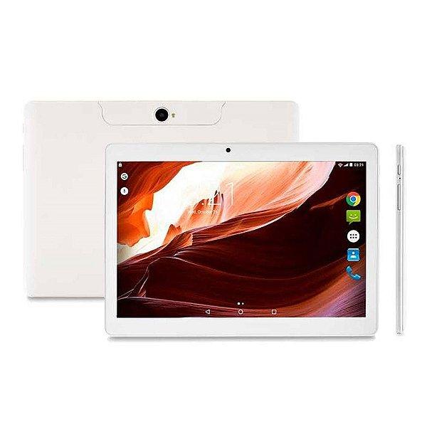 Ponto Frio Tablet Multilaser M10A NB254 - Branco, 3G, Wi-Fi, Tela 10``, 16GB, Câmera 2MP e 5MP, Quad-Core 1.3Ghz