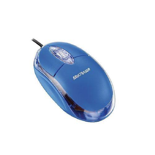 Mouse Classic 800Dpi Usb Azul MO001