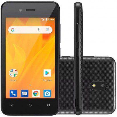 Smartphone Multilaser MS40G 8GB Desbloqueado Preto - PRODUTO DE VITRINE COM 12 MESES DE GARANTIA