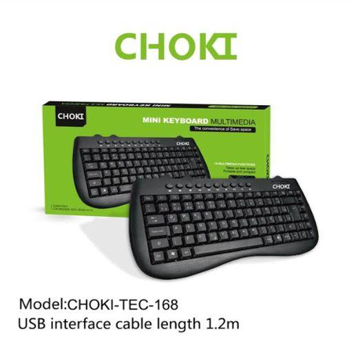 TECLADO CHOKI COM FIO USB,CHOKI-TEC-168