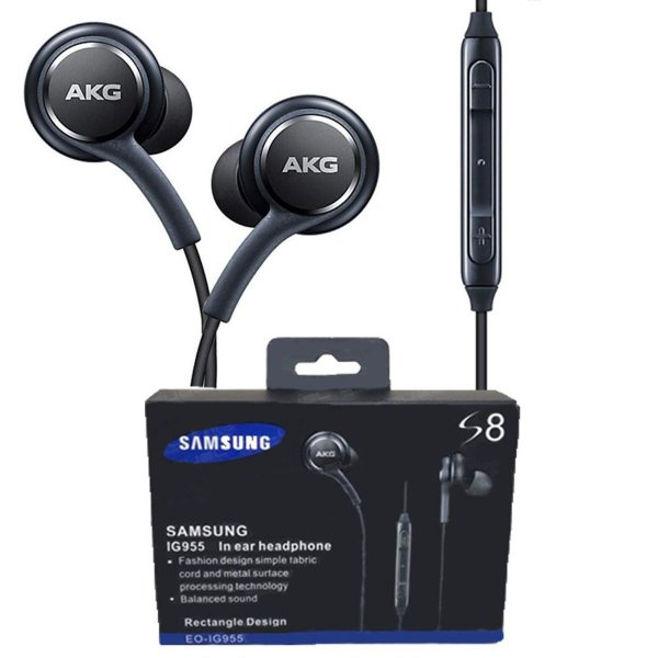 Fone De Ouvido Samsung Akg S6 S7 S8 S9 S10 Note 8 Note 9