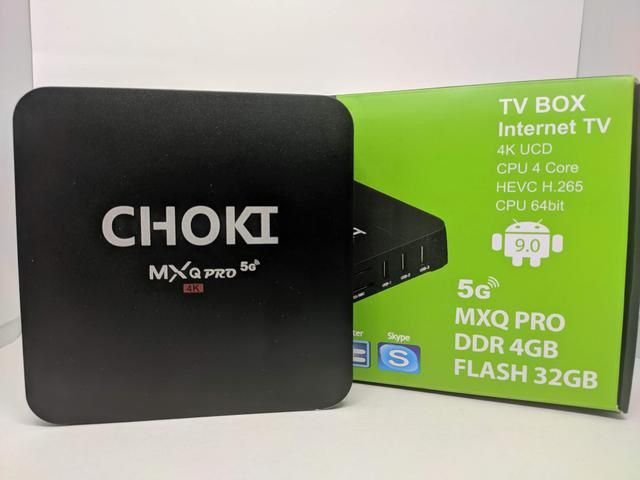 Tv Box Choki MXQ Pro 4k 2020 - 4Gb/32Gb - Wi-fi 5Ghz Smart Tv 4k