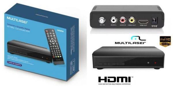 Conversor/gravador Digital Multilaser Re219