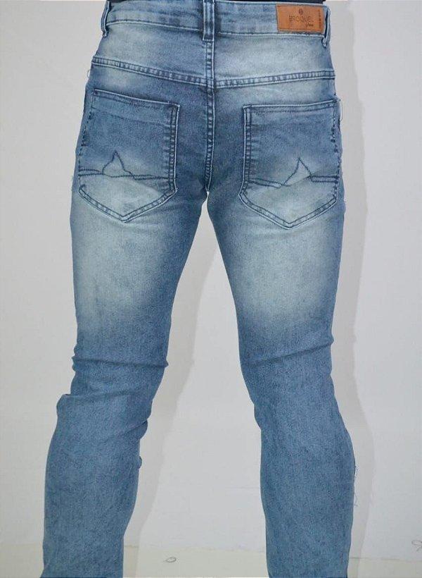 calça jeans masculina rasgada destroyer