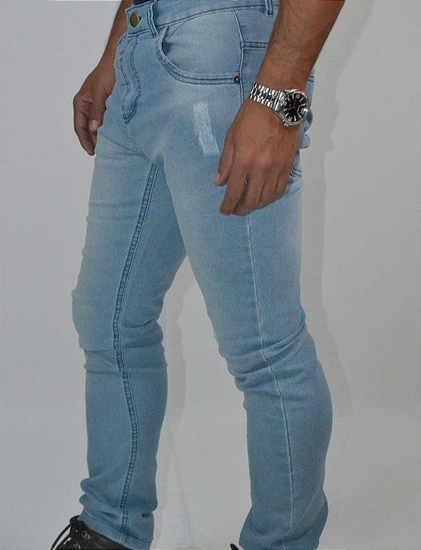 calça jeans masculina clara