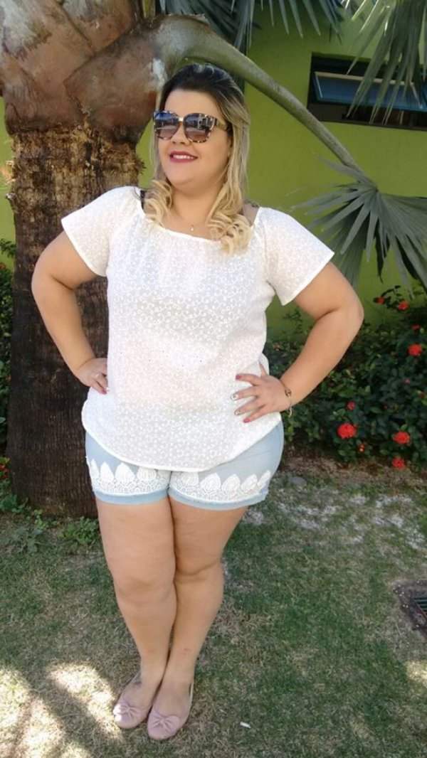 SHORTS PLUS SIZE JEANS REF 2578