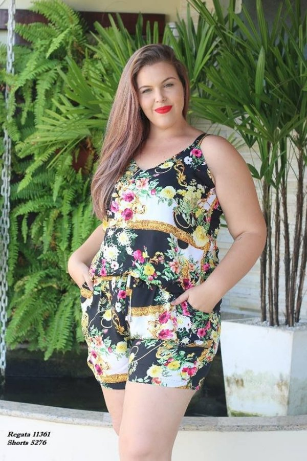 REGATA PLUS SIZE ESTAMPA REF. 11361