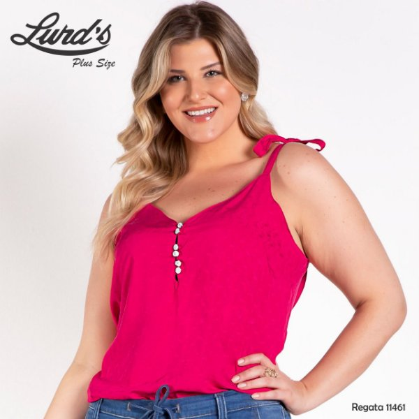 REGATA PLUS SIZE VISCOSE PINK REF 11641
