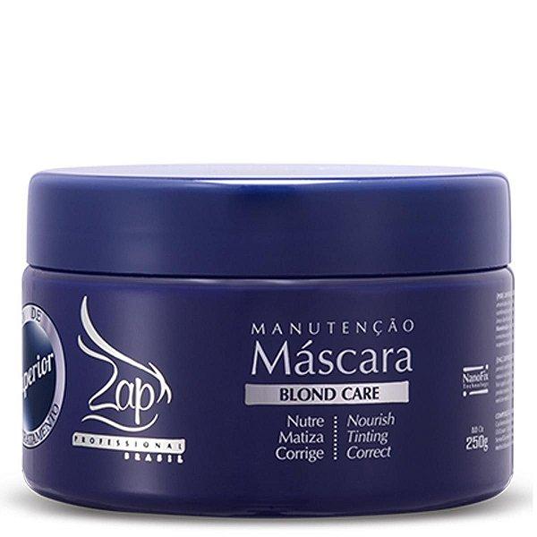Zap Professional Blond Care Máscara Manutenção NanoFix Technology 250g