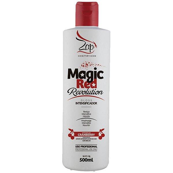 Magic Red Revolution Matizador Vermelho Zap Cosméticos 500ml