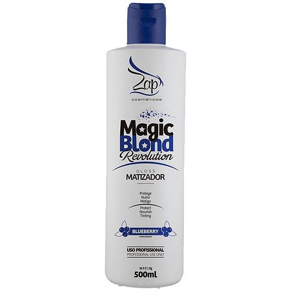 Magic Blond Revolution Matizador para Loiros Zap Cosméticos 500ml