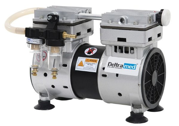 Bomba de alto vácuo D400 - Deltramed