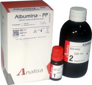 Reagente ALBUMINA - PP - MHLab