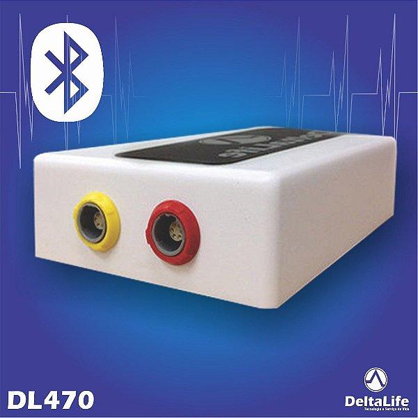 DL470 - Monitor cirúrgico via bluetooth VET - DeltaLife
